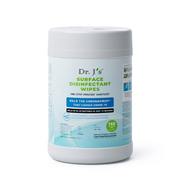 Dr J's Surface Disinfectant Wipes